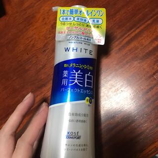 コーセーコスメポート(KOSE COSMEPORT)のモイスチュアマイルド ホワイト パーフェクトエッセンス(230ml)(美容液)