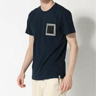 ナノユニバース(nano・universe)の【新品】ナノユニバース 綿100%ポケット半袖Tシャツ カットソー M(Tシャツ/カットソー(半袖/袖なし))