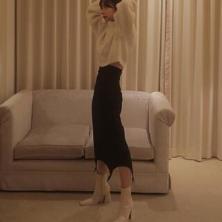 バブルス(Bubbles)のMELT THE LADY ストレッチガーターロングスカート(ロングスカート)