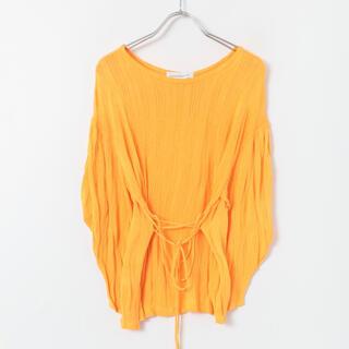 ロンハーマン(Ron Herman)のsayaka davis オレンジ リブニット トップス(Tシャツ(長袖/七分))