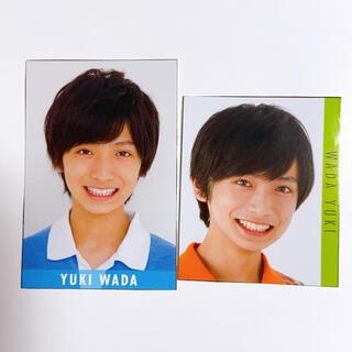 和田優希 データカード 2枚セット(アイドルグッズ)