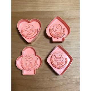 スヌーピー(SNOOPY)のスヌーピー クッキー型 クッキーカッター トランプ(調理道具/製菓道具)