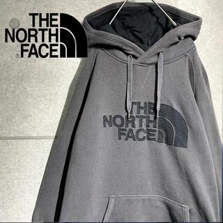 ザノースフェイス(THE NORTH FACE)のTHE NORTH FACE ノースフェイス ビッグ ロゴ ワッペン パーカー(パーカー)