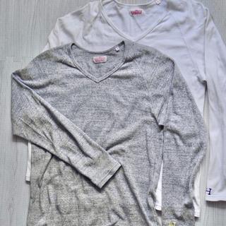 ハリウッドランチマーケット(HOLLYWOOD RANCH MARKET)のハリウッドランチマーケット ロンT 2枚 サイズ3(L)(Tシャツ/カットソー(七分/長袖))