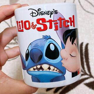 ディズニー(Disney)の【Disney】リロアンドスティッチマグカップ(食器)