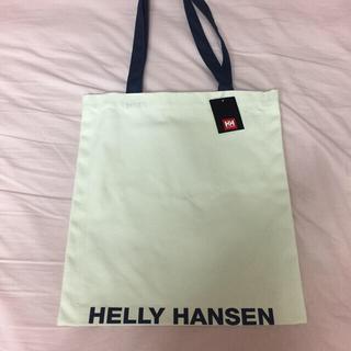 ヘリーハンセン(HELLY HANSEN)のHELLY HANSEN ロゴトートバッグ 未使用 ヘリーブルー(トートバッグ)