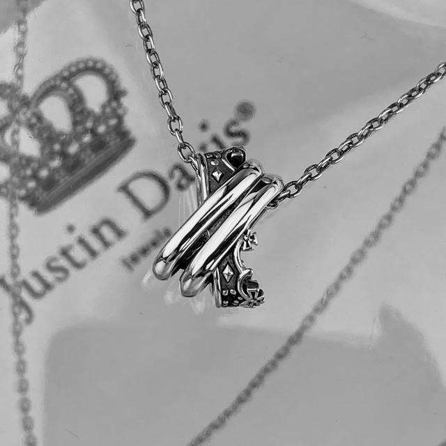Justin Davis(ジャスティンデイビス)の美品!Justin Daivis snj692 TWIST OF FATE メンズのアクセサリー(ネックレス)の商品写真