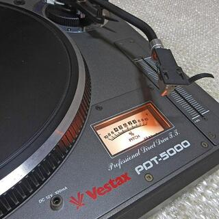 ターンテーブル PDT-5000 レコードプレイヤー VESTAX レコード(ターンテーブル)