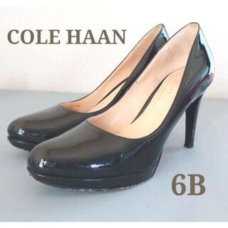 COLE HAAN コールハーン ハイヒールパンプス黒ブラック6Bフォーマル春夏(ハイヒール/パンプス)