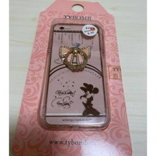 ディズニー(Disney)のiPhone6 iPhone6s 携帯ケース ミニーちゃん♡ 韓国 リング付き(iPhoneケース)