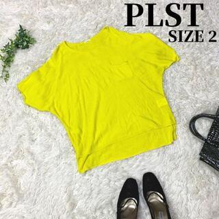 プラステ(PLST)のPLST プラステ 薄手 トップス レディース イエロー(Tシャツ(半袖/袖なし))