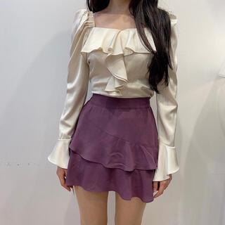 スタイルナンダ(STYLENANDA)のattrangs スカート qung chuu dholic mixxmix(ミニスカート)
