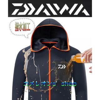 ダイワ(DAIWA)のDaiwa ダイワ 吸汗速乾 撥水加工パーカーシャツ 2XLサイズ(ウエア)
