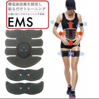EMS エイトパック フィットネス ダイエット 男女兼用(トレーニング用品)