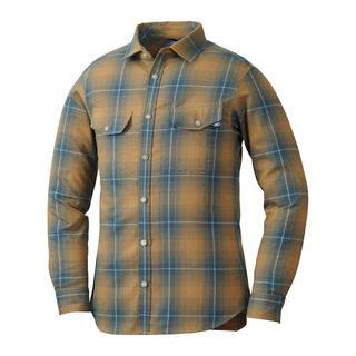 ミレー(MILLET)のMILLET ミレー長袖シャツ クータイストレッチシャツ ベージュ メンズM新品(登山用品)