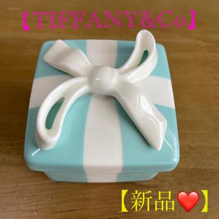ティファニー(Tiffany & Co.)のTIFFANY&Co 小物入れ (HACCI はちみつ石鹸のおまけ付き❤️)(小物入れ)