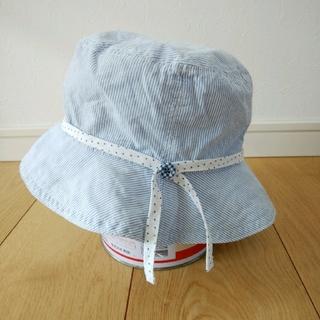 ラグマート(RAG MART)のRAG MART 48cm 水色帽子 ハット(帽子)
