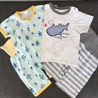 シマムラ(しまむら)のERI様専用 しまむら 半袖パジャマ2セット &  GAP ハーフパンツ(パジャマ)