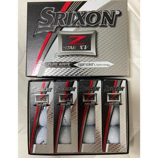Z-STAR XV SRIXON 1ダース 新品 ピュアホワイト