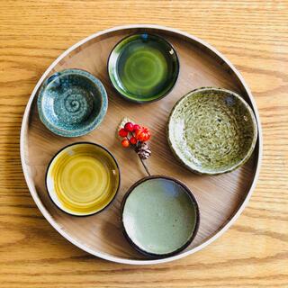 【新品・天蛙】豆皿、小鉢5個セット(食器)