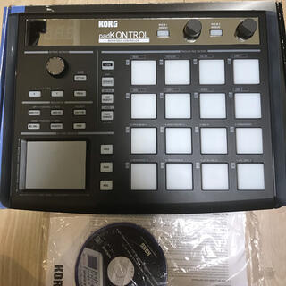 コルグ(KORG)の美品!KORG padKONTROL midi(MIDIコントローラー)