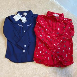 ブリーズ(BREEZE)のベビーシャツ2枚セット(ブラウス)
