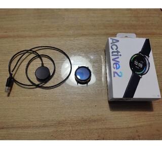 ギャラクシー(Galaxy)のgalaxy  watch active 2 40mm シルバー(その他)