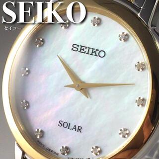 セイコー(SEIKO)の★海外限定★セイコー/12石ダイヤモンド/女性用/レディース腕時計WW1330(腕時計)