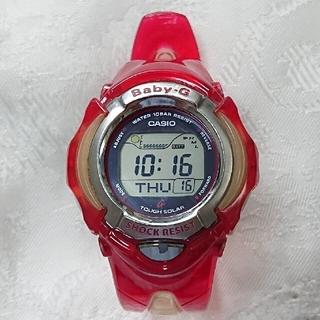 ベビージー(Baby-G)のBaby-G BGX220-2611 タフ・ソーラー  クリアレッド(腕時計)