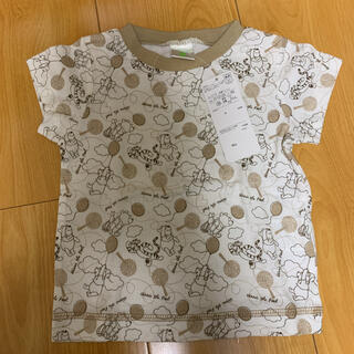 クマノプーサン(くまのプーさん)のDisney プーさん 半袖 Tシャツ 70㎝(Tシャツ)