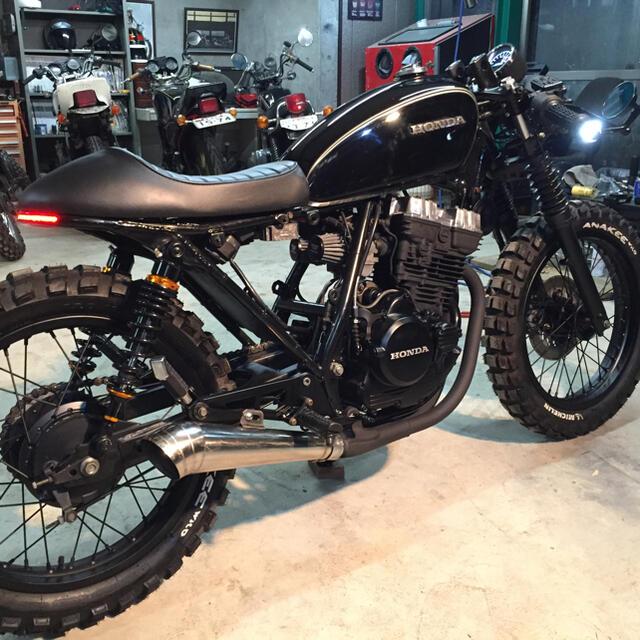 ホンダ(ホンダ)の至高の一品  レストア完了&フルカスタム HONDA GB250  クラブマン  自動車/バイクのバイク(車体)の商品写真