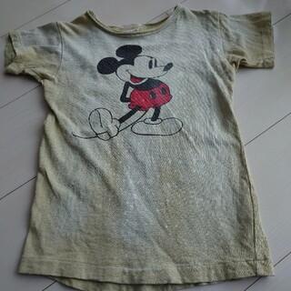 デニムダンガリー(DENIM DUNGAREE)のデニムダンガリー ミッキー 120(Tシャツ/カットソー)