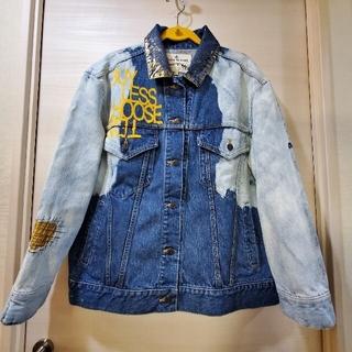 Vivienne Westwood - 【アングロマニア】デニムジャケット スカルプリント 美品