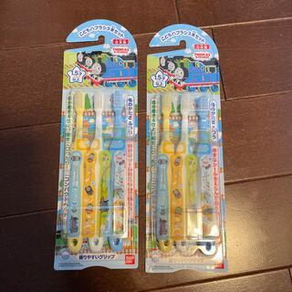 バンダイ(BANDAI)のこどもハブラシ3本セット トーマス ×2(歯ブラシ/歯みがき用品)