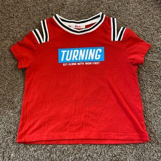 イングファースト(INGNI First)のイングファースト Tシャツ 140 赤(Tシャツ/カットソー)