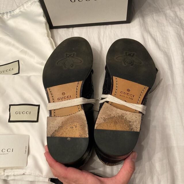 Gucci(グッチ)の美品 GUCCI 18AW queercore brogue monkshoes メンズの靴/シューズ(ドレス/ビジネス)の商品写真