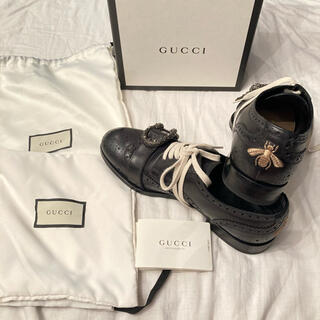 Gucci - 美品 GUCCI 18AW queercore brogue monkshoes