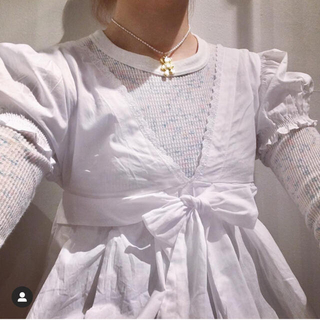 ベリーブレイン(Verybrain)のkitty コットンシャツ(シャツ/ブラウス(半袖/袖なし))