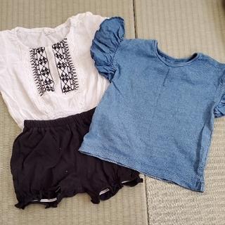 シマムラ(しまむら)の女の子♡80セット(Tシャツ)