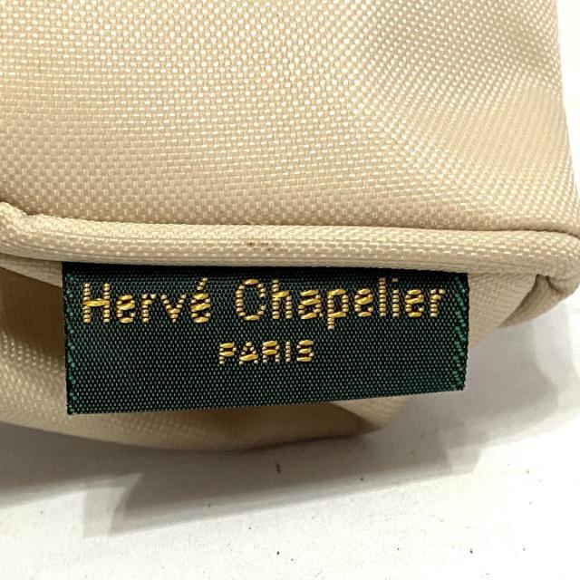 Herve Chapelier(エルベシャプリエ)のエルベシャプリエ - アイボリー ナイロン インテリア/住まい/日用品の文房具(ペンケース/筆箱)の商品写真