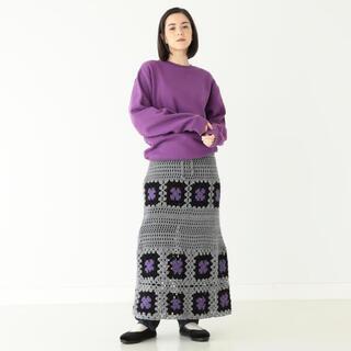 ビームスボーイ(BEAMS BOY)のBEAMSBOY / クロッシェ ロングスカート  2020AW(ロングスカート)