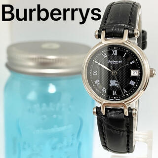 BURBERRY - 203 バーバリー時計 レディース腕時計 ブラック アンティーク ヴィンテージ