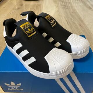 アディダス(adidas)のadidasキッズ スリーストライプス360  20.0cm(スリッポン)