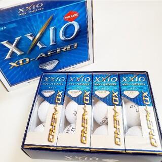 ダンロップ(DUNLOP)の新品☆XXIO ゼクシオ XD-AERO ゴルフボール 1ダース ノベルティ(その他)