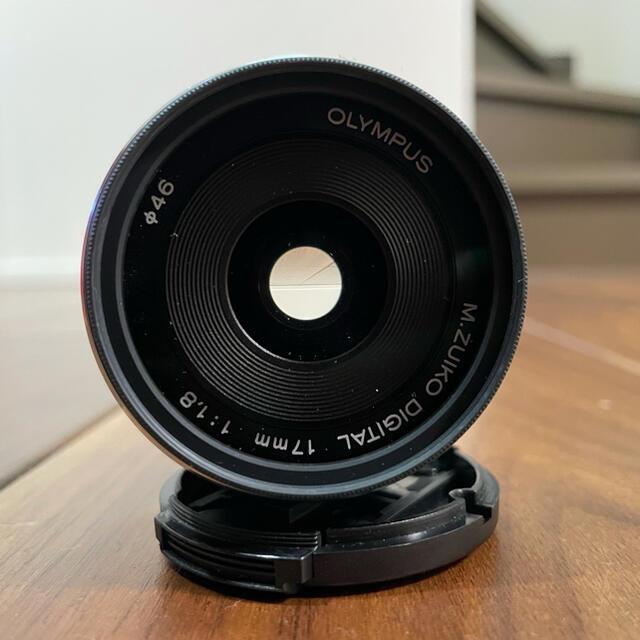 OLYMPUS(オリンパス)のM.ZUIKO DIGITAL 17mm F1.8 スマホ/家電/カメラのカメラ(レンズ(単焦点))の商品写真