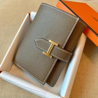 エルメス(Hermes)の激レア✨ベアン コンビネ コンパクト ミニ ウォレット 財布(財布)