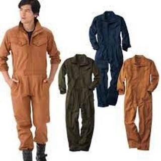 ウォークマン(WALKMAN)のツナギ 3着 Lサイズ ワークマン ネイビー ブルー(サロペット/オーバーオール)