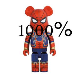メディコムトイ(MEDICOM TOY)のiron spider be@rbrick スパイダーマン 1000%(キャラクターグッズ)
