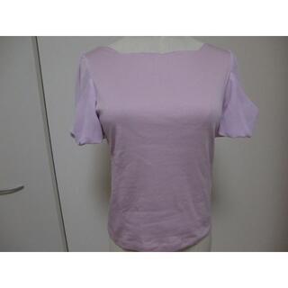 トッカ(TOCCA)のTOCCA GABRIEL トップス ピンク系 XS(カットソー(半袖/袖なし))