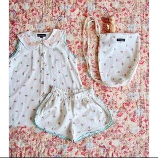キャラメルベビー&チャイルド(Caramel baby&child )のBonjour diary ワンピース パンツ チュニック パジャマ(ブラウス)
